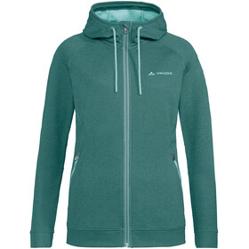 VAUDE Skomer Fleece Jas Dames, nickel green
